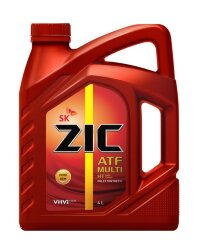 Трансмиссионное масло ZIC ATF Multi HT (4 л.) 162664