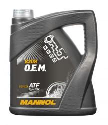 Трансмиссионное масло Mannol 8208 O.E.M. Type T-IV (4 л.) 3041