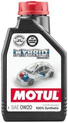 Моторное масло Motul Hybrid 0W-20 (1 л.) 107141