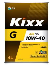 Моторное масло Kixx G SN 10W-40 (4 л.) L532544TR1