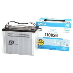 Аккумулятор Furukawa Battery Altica High-Grade 80Ah 760A 257x170x225 п.п. (+-) 110D26R