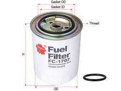 Фильтр топливный Sakura FC1707