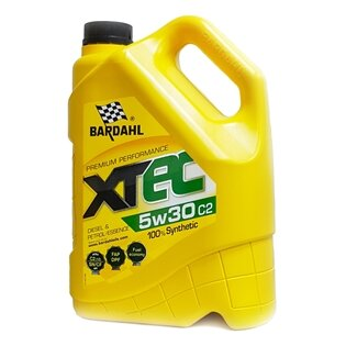 Моторное масло Bardahl XTEC 5W-30 C2 (5 л.) 36533