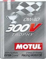 Моторное масло Motul 300V Trophy 0W-40 (2 л.) 104240