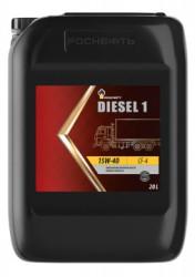 Моторное масло Rosneft Diesel 1 15W-40 (20 л.) 10121