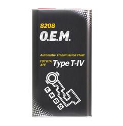 Трансмиссионное масло Mannol 8208 O.E.M. Type T-IV (4 л.) 3043