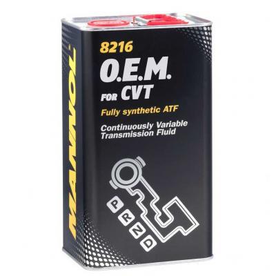 Трансмиссионное масло Mannol 8216 O.E.M. for CVT (4 л.) 3066