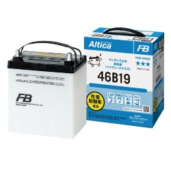 Аккумулятор Furukawa Battery Altica High-Grade 43Ah 380A 185x125x227 п.п. (+-) 46B19R