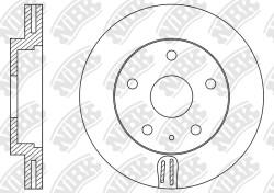 Тормозной диск NiBK RN1516