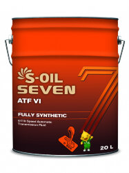 Трансмиссионное масло S-oil SEVEN ATF VI (20 л.) E107982