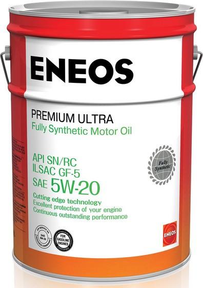 Моторное масло Eneos Premium Ultra 5W-20 (20 л.) 8801252022176