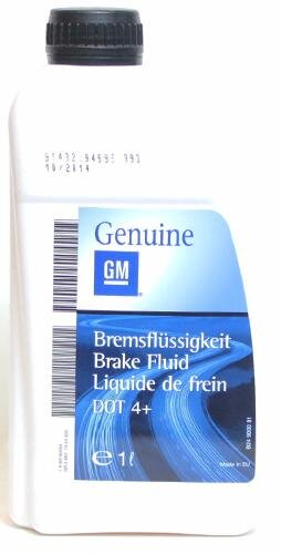 Тормозная жидкость GM DOT 4+ (1 л.) 93160364