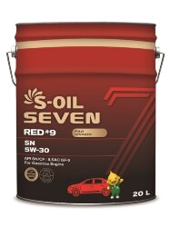 Моторное масло S-Oil Seven RED9 SN 5W-30 (20 л.) E107627