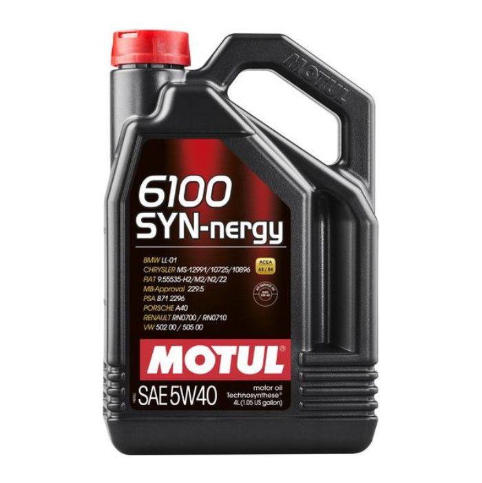 Моторное масло Motul 6100 Syn-Nergy 5W-40 (4 л.) 107978