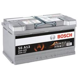 Аккумулятор Bosch S5A 12V 95Ah 850A 353x175x190 о.п. (-+) 0092S5A130