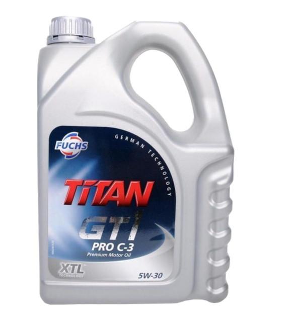 Моторное масло Fuchs Titan GT1 Pro C-3 5W-30 (5 л.) 601426384