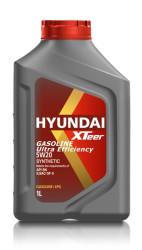 Моторное масло Hyundai (Kia) Xteer Gasoline Ultra Efficiency 5W-20 (1 л.) 1011013