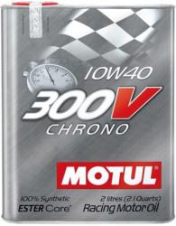 Моторное масло Motul 300V Chrono 10W-40 (2 л.) 104243