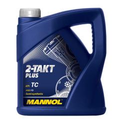Масло двухтактное Mannol 2-Takt Plus (4 л.) 1426