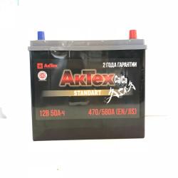 Аккумулятор АкТех Standart Asia 50Ah 580A 238x129x223 о.п. (-+) ATSTA503R