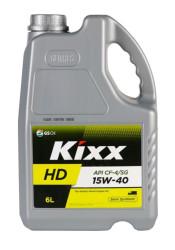 Моторное масло Kixx HD CF-4 15W-40 (6 л.) L2001360E1