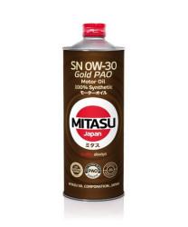Моторное масло Mitasu MJ-103 Gold PAO SN 0W-30 (1 л.) MJ1031