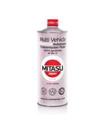 Трансмиссионное масло Mitasu Premium Multi Vehicle ATF (1 л.) MJ3281
