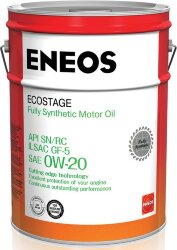 Моторное масло Eneos Ecostage SN 0W-20 (20 л.) 8801252022039