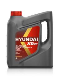 Моторное масло Hyundai (Kia) Xteer Gasoline Ultra Efficiency 5W-20 (4 л.) 1041001