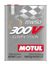 Моторное масло Motul 300V Competition 15W-50 (2 л.) 104244