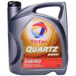 Моторное масло Total Quartz 9000 5W-40 (5 л.) 173574