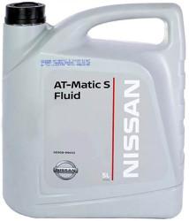 Трансмиссионное масло Nissan ATF Matic-S (5 л.) KE908-99933