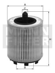 Фильтр масляный Mann-Filter HU6007X