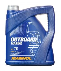 Масло двухтактное Mannol Outboard Marine 2T (4 л.) 1428