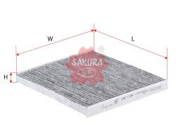Фильтр салона Sakura CAC1106