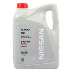 Моторное масло Nissan 5W-40 (5 л.) KE900-90042R