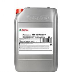 Трансмиссионное масло Castrol Transmax Dexron-VI Mercon LV Multivehicle (20 л.) 15D73B