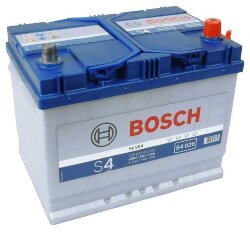 Аккумулятор Bosch S4 70Ah 630A 261x175x220 о.п. (-+)