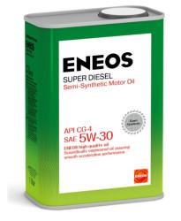 Моторное масло Eneos Super Diesel 5W-30 CG-4 (1 л.) Oil1330