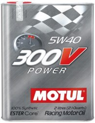 Моторное масло Motul 300V Power 5W-40 (2 л.) 104242