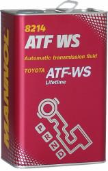 Трансмиссионное масло Mannol 8214 ATF WS (4 л.) 3047