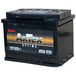 Аккумулятор АкТех Optima 60Ah 480A 242x175x190 о.п. (-+) ATOPT603R