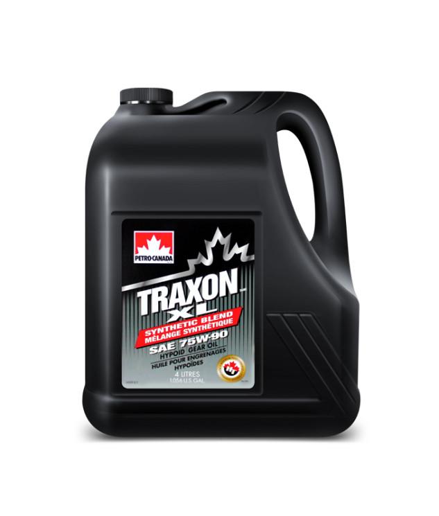 Трансмиссионное масло Petro-Canada Traxon XL Synthetic Blend 75W-90 (4 л.) TRXL759C16
