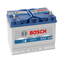 Аккумулятор Bosch S4 70Ah 630A 261x175x220 п.п. (+-)