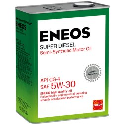 Моторное масло Eneos Super Diesel 5W-30 CG-4 (4 л.) Oil1333