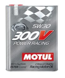 Моторное масло Motul 300V Power Racing 5W-30 (2 л.) 104241