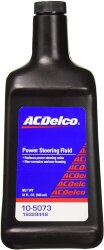 Жидкость ГУР ACDelco Power Steering Fluid (1 л.) 105073