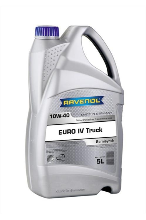 Моторное масло Ravenol Euro IV Truck 10W-40 (5 л.) 1122107005