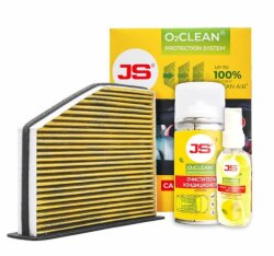 JS Asakashi O2Clean Система антибактериальной защиты (1 шт.) AC102BK