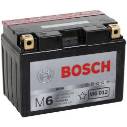 Аккумулятор Bosch M6 12V 9Ah 200A 150x87x110 п.п. (+-) 0092M60120